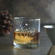 Orion Constellation Cocktail Glass