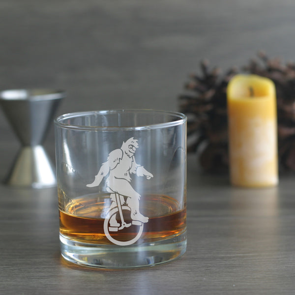 yeti etched lowball glass