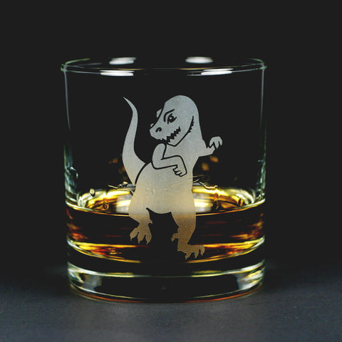T-Rex Lowball Glass