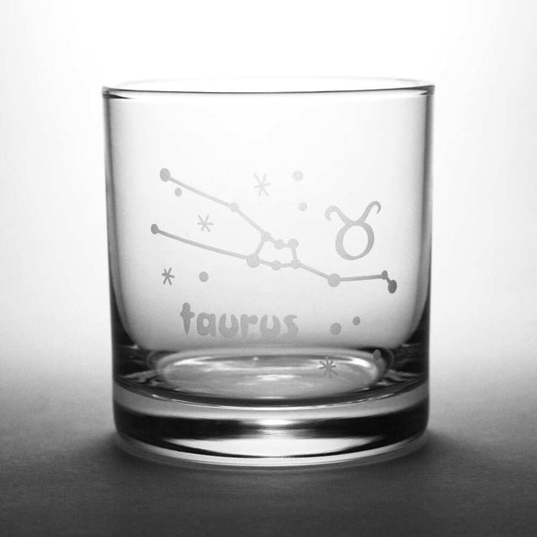 taurus lowball glass by Bread and Badger