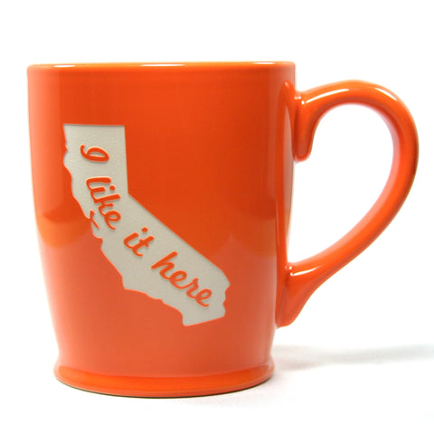 I Like it Here State Mug - California