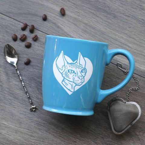 Hairless Sphynx Cat Mug (Retired)