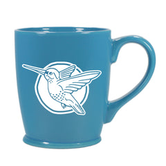 Hummingbird mug in Standard Sky Blue by Bread and Badger