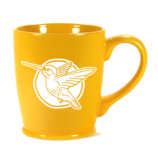 Hummingbird mug in Standard Yellow by Bread and Badger