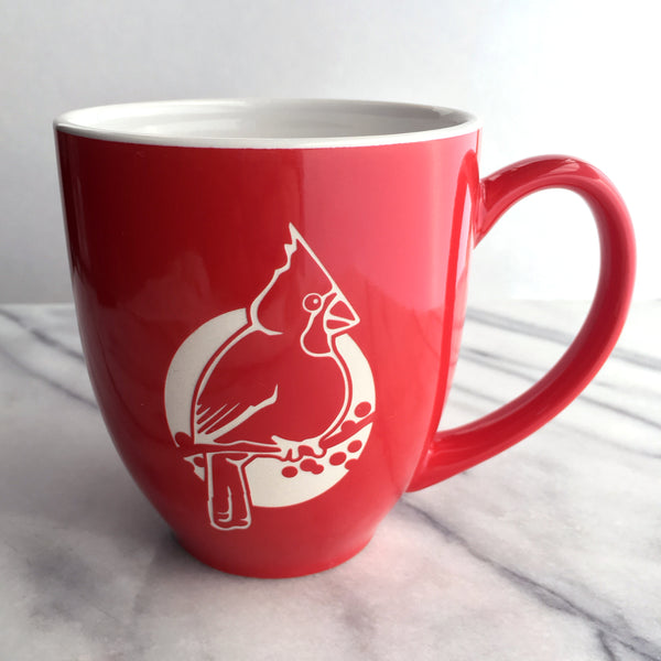 Red Cardinal Mug by Bread and Badger