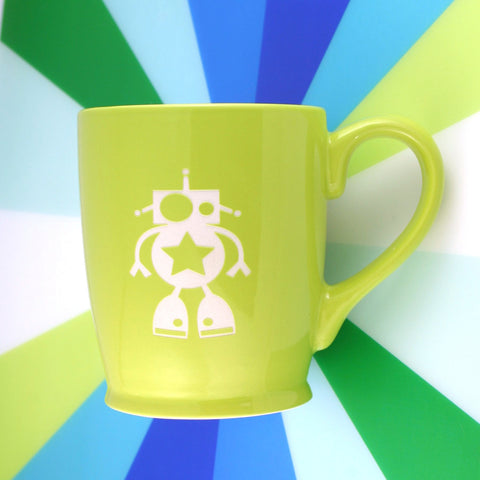 Robot Mug (Retired)