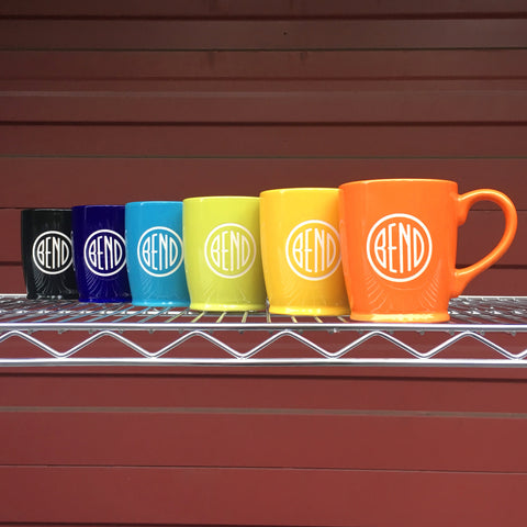 custom logo mugs by Bread and Badger