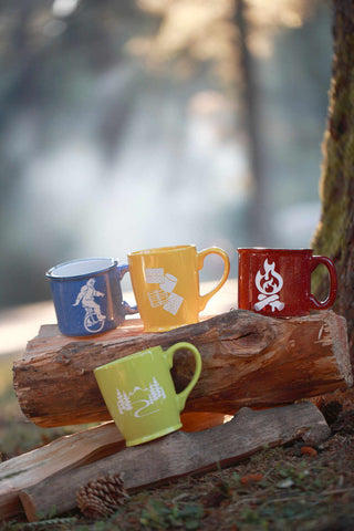 Great Outdoors mugs by Bread and Badger