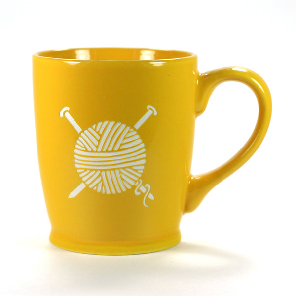 Yarn Mug - Knitting (Retired)