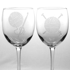 Yarn Wine Glass (Retired)