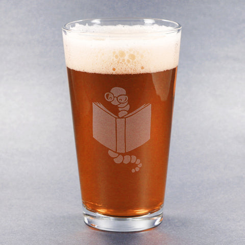 Bookworm Pint Glass (Retired)