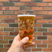 Coffee Beans Pint Glass