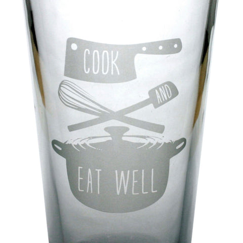 Cook & Eat Well Pint Glass