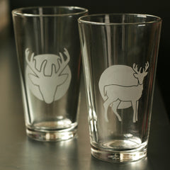 Deer Pint Glass (Retired)