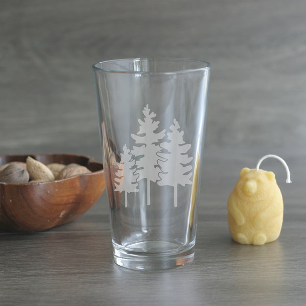 Family of Trees pint glass