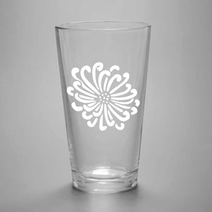 Flower Pint Glass (Retired)