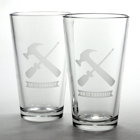 Handyman DIY Maker Pint Glass (Retired)