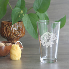 Hedgehog Pint Glass (Retired)