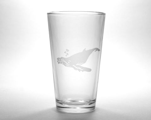 Whale Pint Glass (Retired)