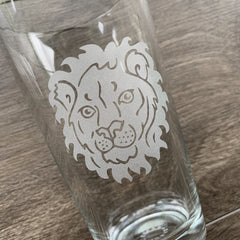 Lion Beer Pint Glass (LE)