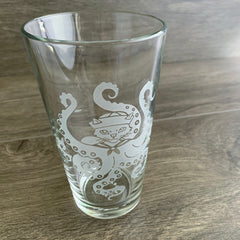 Octopus Cat Beer Glass
