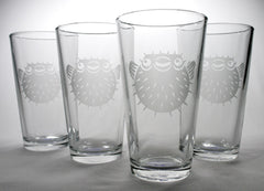 Puffer Fish Pint Glass (Retired)