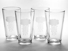 Rain Cloud Pint Glass (Retired)