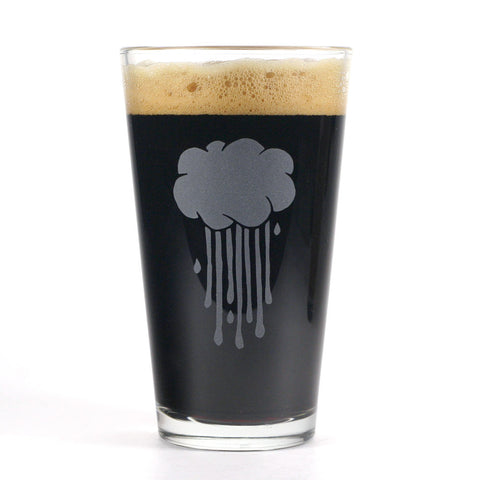 Rain Cloud Pint Glass