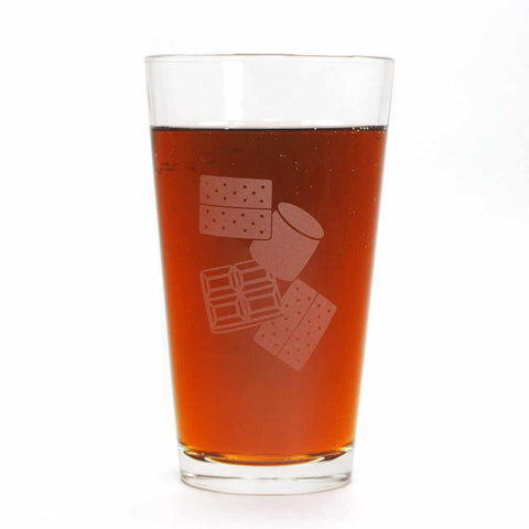 S'more Pint Glass
