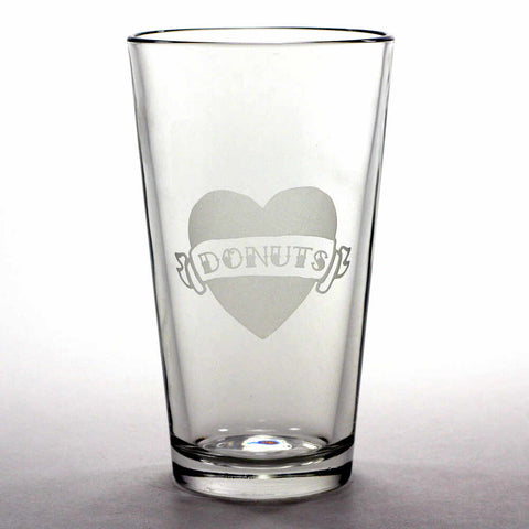 Tattoo Heart Pint Glass (Retired)