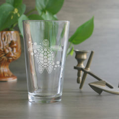 Turtle Pint Glass (Retired)