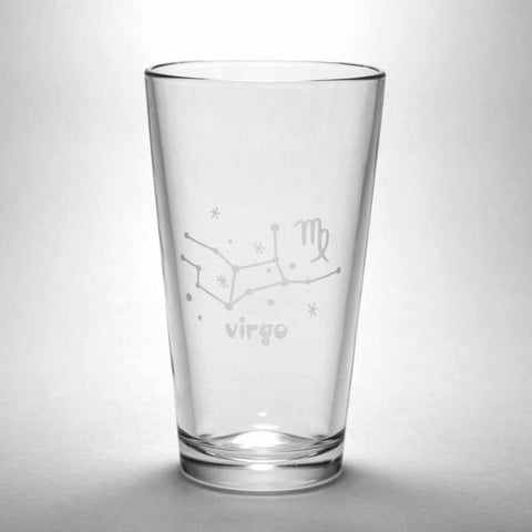 Virgo Zodiac Constellation Pint Glass (Retired)