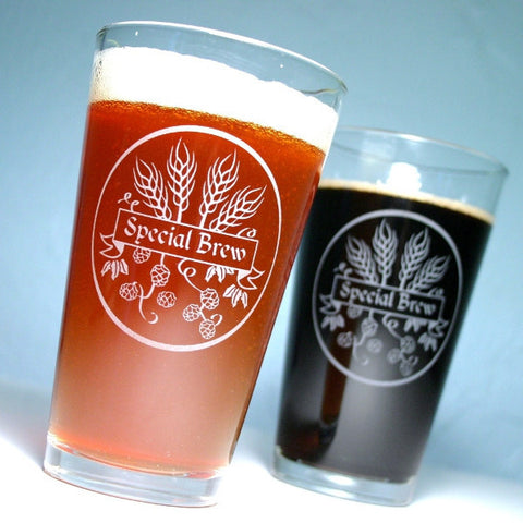 Special Brew Homebrew Pint Glass