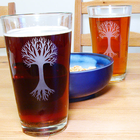 Tree of Life Pint Glass (Retired)