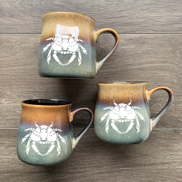 Crab Mugs in Painted Desert by Bread and Badger