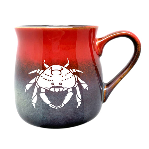Dungeness Crab Mug in Fiery Sunset by Bread and Badger