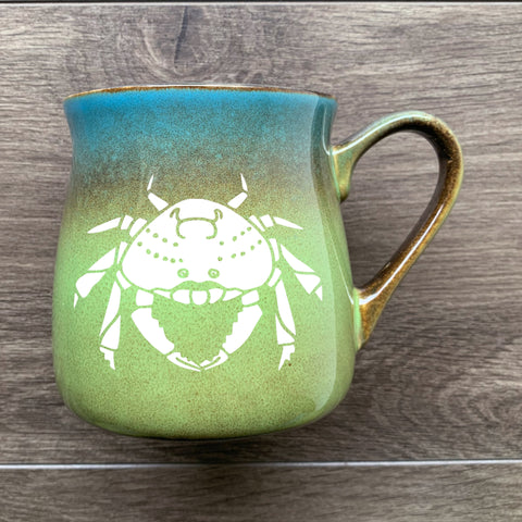 Crabby Mug in Meadow by Bread and Badger