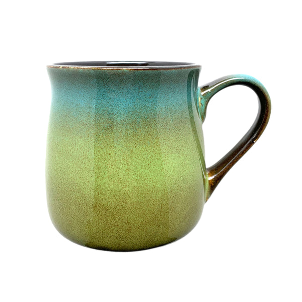 Rustic Mug - Meadow Green-Blue