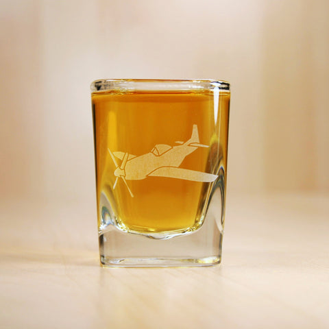 Airplane Shot Glass