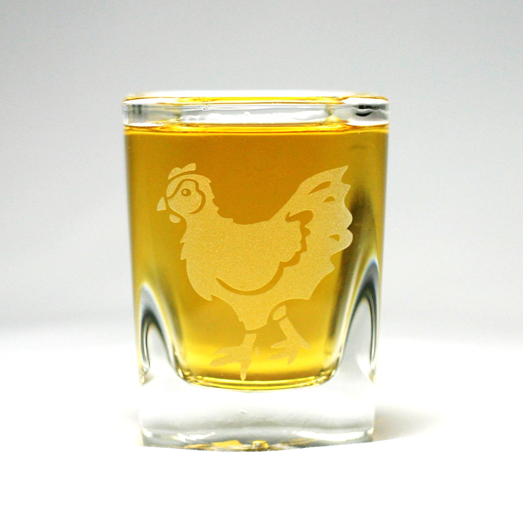 hen shot glasses