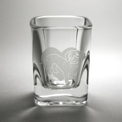 Dachshund Dog Shot Glass (Retired)