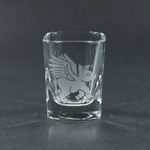 Flying Pig Shot Glass (Retired)