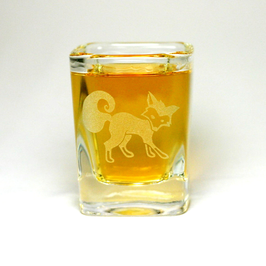 fox shot glass