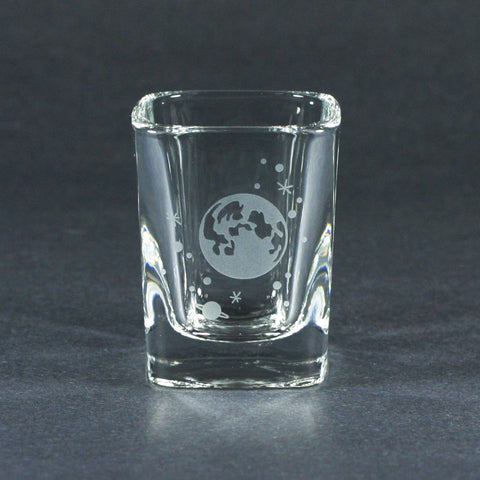 Moon and Stars Shot Glass