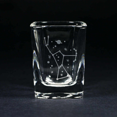 orion constellation shot glass