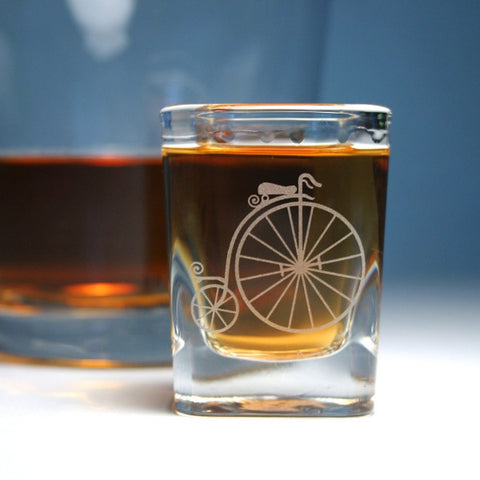 Penny Farthing Bike Shot Glass