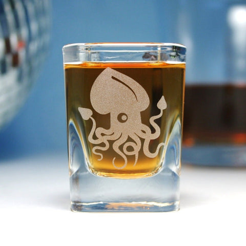 Squid Shot Glass