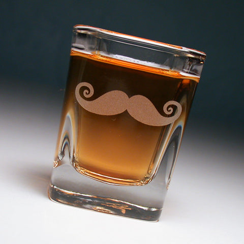 Mustache Shot Glass (Retired)