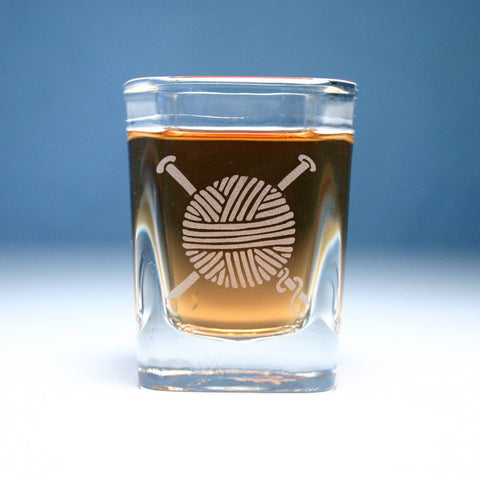 Yarn Shot Glass