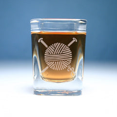 Yarn Shot Glass (Retired)